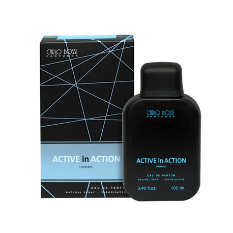 Active in Action Blue